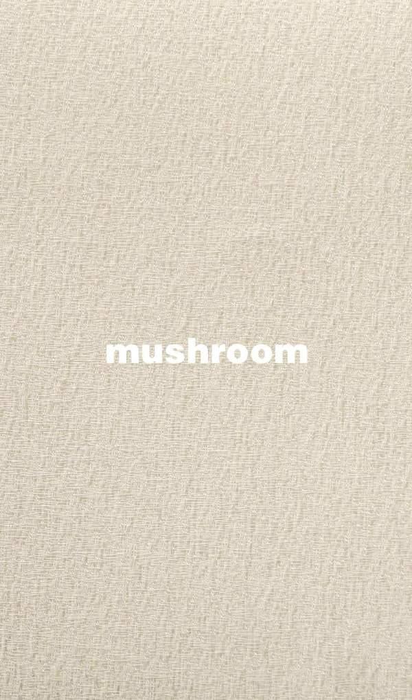 Stoffe und Farben Joplin mushroom für Flächenvorhang mit Lasercut