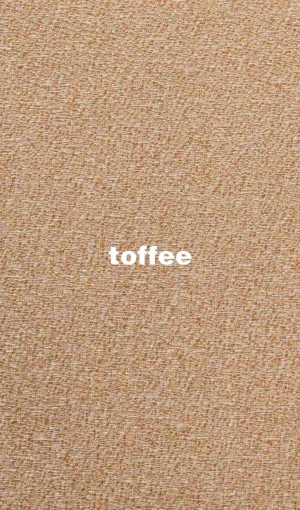 Stoffe und Farben Joplin toffee für Flächenvorhang mit Lasercut