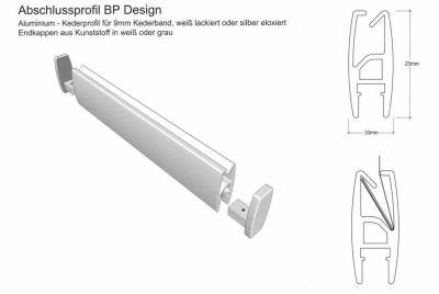 Abschlussprofile Design für oben und unten 5