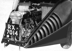 Motor des Burney von 1931