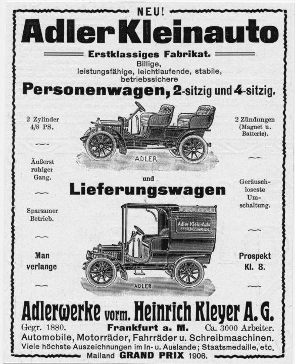 Adler-Reklame_4-8_PS_Kleinauto_1906_Galerie