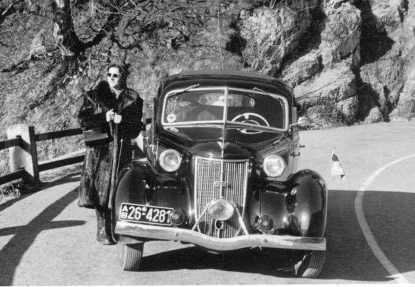 Wanderer_W23_von_1939_am_Kesselberg_nach Walchensee_Ausschnitt