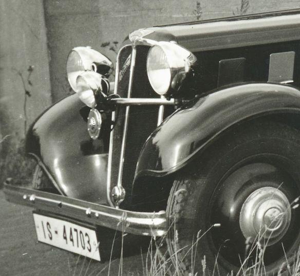 Hanomag_Rekord_6-Fenster-Limousine_Frontpartie