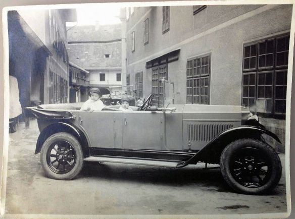 Fiat_503_oder_509_ 1927 in Graz_Galerie