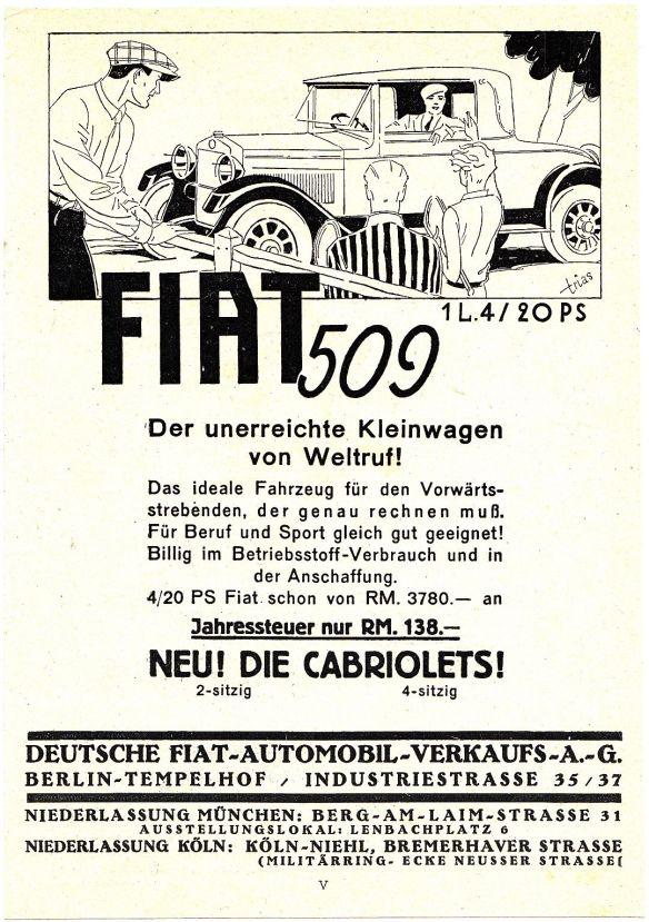 Fiat_509_Reklame