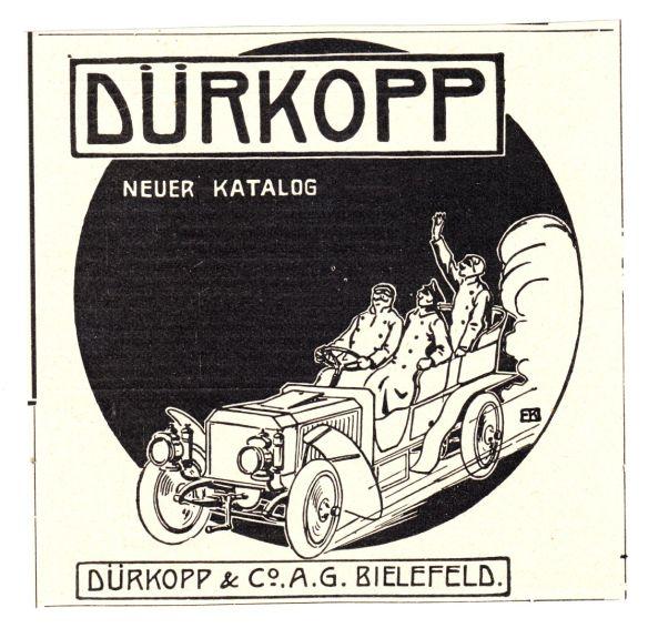 Dürkopp_Reklame_um_1905