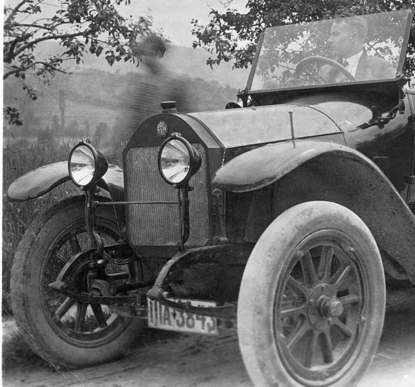 Benz_8-20_PS_1912-14_Nachkrieg_Frontpartie