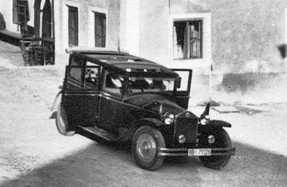 Lancia_Lambda_Gasthof_Mauthäusl_nach 1933_Ausschnitt