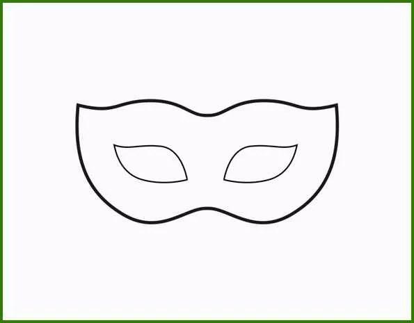 Faschingsmasken Vorlagen Zum Ausdrucken toll Venezianische