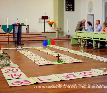 Levend Ganzenbord – God in het spel