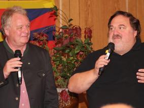 die beiden übersetzten großartig - Wolfgang und Christian