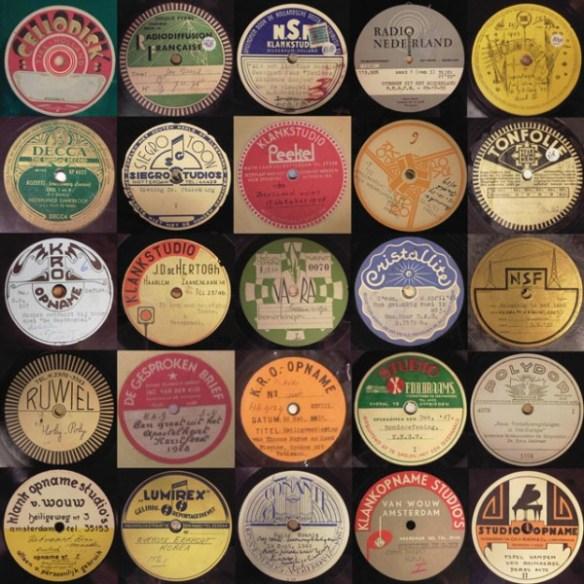 Verschillende labels uit de periode jaren 30 tot jaren 50