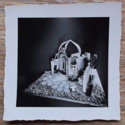 Maquette van Fokke Duetz en Peter Zwart voor Liefde en list (AVRO, 21-6-1955). Collectie Pien Duetz
