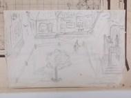 59-1-28 Christus wordt weer gekruisigd, dit is waarschijnlijk een schets van Jack Dixon. Regie Jack Dixon, VPRO Collectie Beeld en Geluid