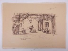 Hut Bombardo / Coco Swiebertje NCRV 5-8-1962 Regie Henk Veenstra Decor Jan P. Koenraads