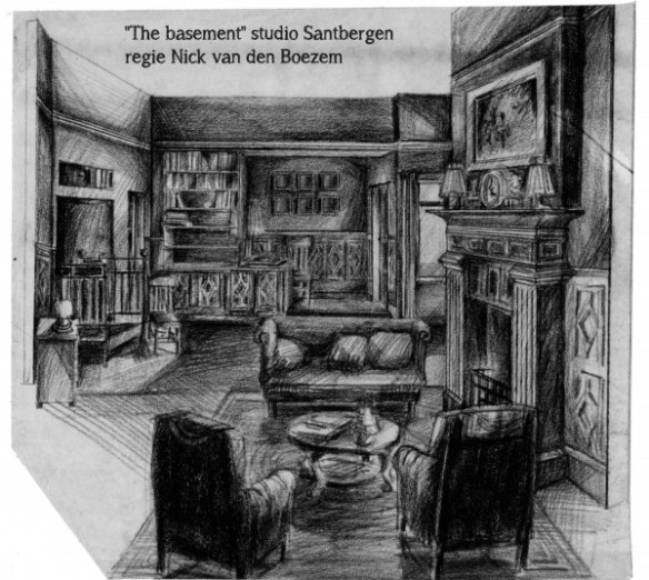 Decorontwerp The Basement (VARA)- Dorus van der Linden