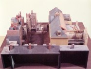 Bint (VPRO, 30-11-1972), regie Krijn ter Braak, decor Frank Rosen. Collectie Frank Rosen