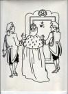 Illustratie 'De bezetting'. Collectie Henk Tilder