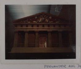 Herodotus: Periander (VPRO, 21-1-1975), regie Ruud van Hemert, decor Frank Rosen. Collectie Martien van den Dijsse