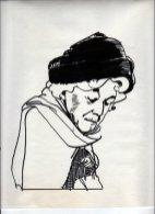 Illustratie 'Miss Marple'. Collectie Henk Tilder