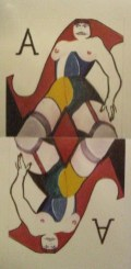 Liesbeth en Ramses (AVRO, 21-2-1981), regie Bob Rooyens, decor Frank Rosen. Collectie Frank Rosen