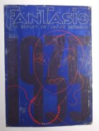 Origineel van het omslagontwerp voor het Franse blad Fantasio. In de jaren 30 verblijft Grijzen met enige regelmaat in Parijs dankzij zijn vriendschap met het Franse echtpaar Dumont. ca 1934