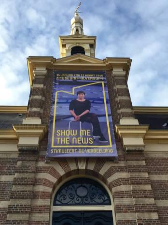 De banner hangt, campagnebeeld ontleenden we aan het werk van Judith van IJken (Heliotrope, 2013) en Annechien Steenhuizen ging gelukkig ook akkoord.
