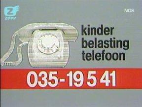 De 'Kinderbelastingtelefoon' ontregelde op 1 april het Hilversumse telefoonverkeer. ©NOS