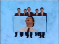 Ook de presentator is goed in beeld in de leader