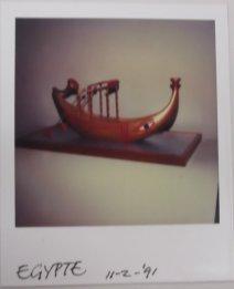 Egyptisch schip voor onbekende productie. Collectie Martien van den Dijssel