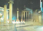 1-2-3 show: Het Romeinse Rijk (KRO, 27-11-1984), decor Roland de Groot. Collectie Roland de Groot