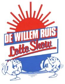 Programmalogo De Willem Ruis Lotto show (VARA 1981-1984), decor: Hub Berkers. Collectie Hub Berkers / NIBG