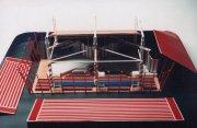 Maquette Sterrenshow (VARA 1984-1986), decor: Hub Berkers. Collectie Hub Berkers / NIBG