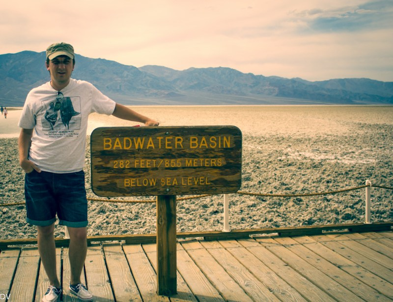 The Lowest point in America