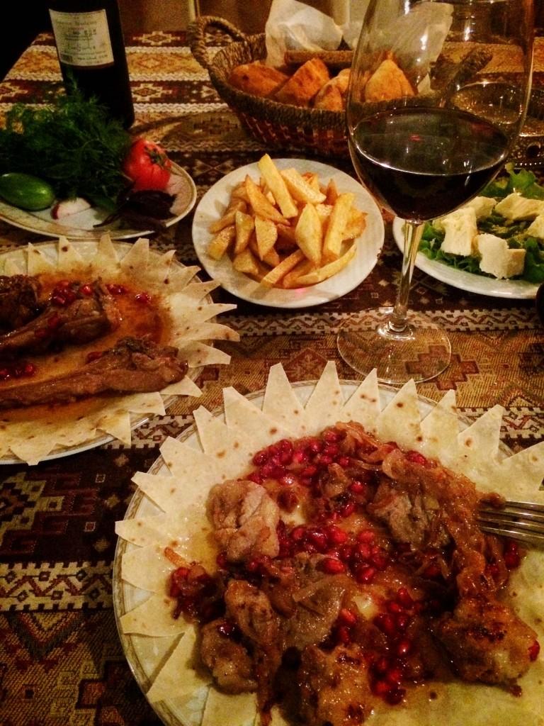 Еда в Баку