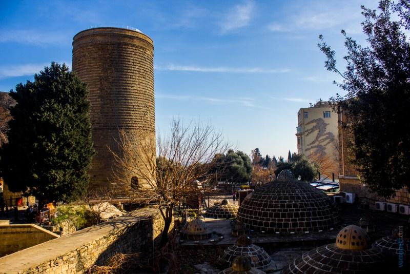 Девичья башня Баку