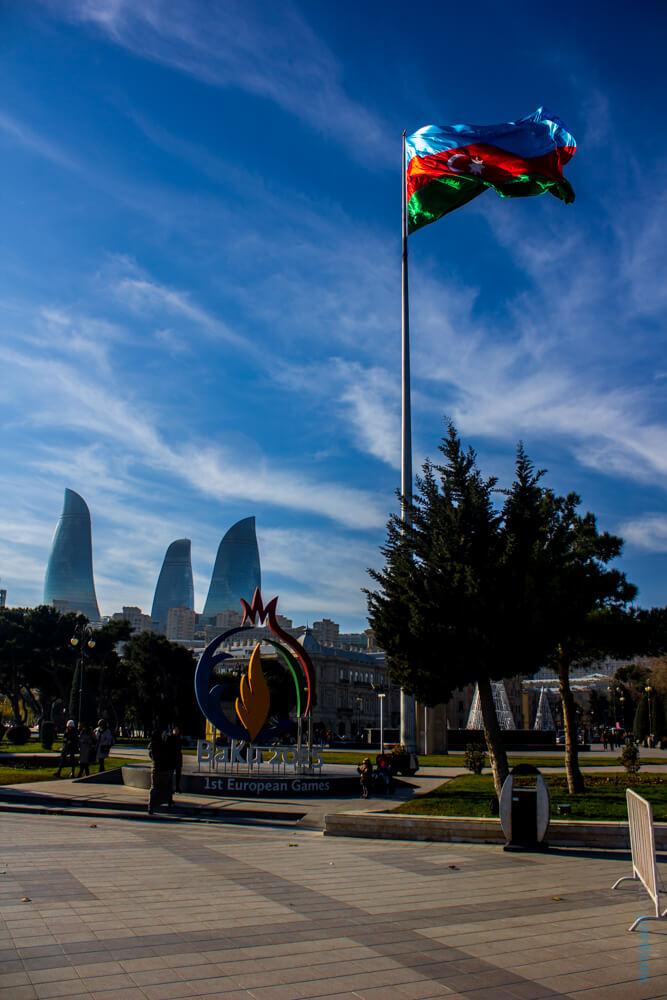 Самостоятельное путешествие в Баку