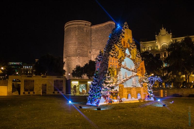 Новогодий Азербайджан