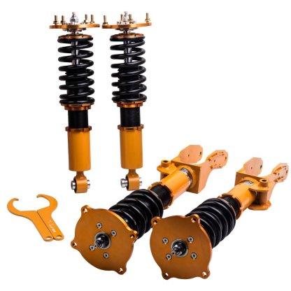24 Ways Adj Damper Assembly Coilovers Kit for Porsche Cayenne 2002-2010 Adj. Damper Shocks Absorber