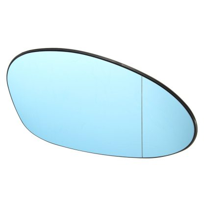 For BMW M3 E46 2001 2002 2003 2004 2005 2006 Right Driver Side Blue Tinted Heated Wing Door Mirror Glass