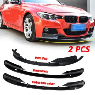 Carbon Fiber Color Front Bumper Cover Lip Front Bumper Surface Only for BMW F30 3 Series M Style 2012-2018 Sports Version