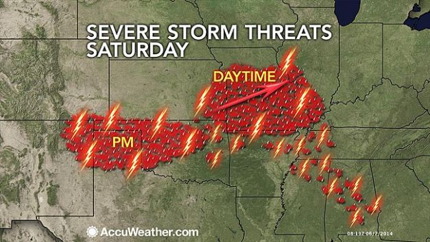 Saturday Severe Weather Targets St  Louis Archives - The