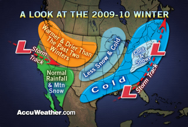 Accuweathers 2009-10 Winter Outlook