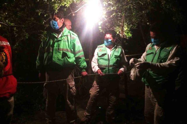 Hallan cadáver en un pozo en San Cristóbal