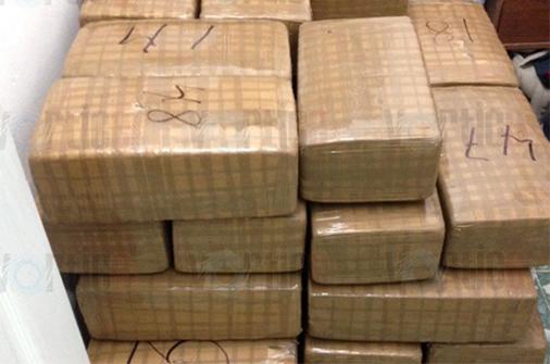 Asegura PGR a una persona con 390 kilos de mariguana