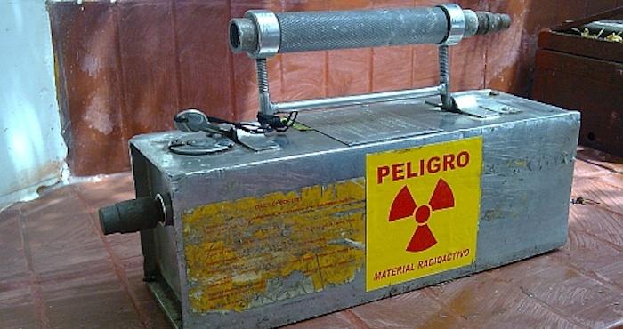 Buscan material radiactivo robado entre chatarra en Tabasco