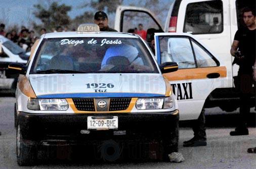 Asesinan a taxista en Tuxtla