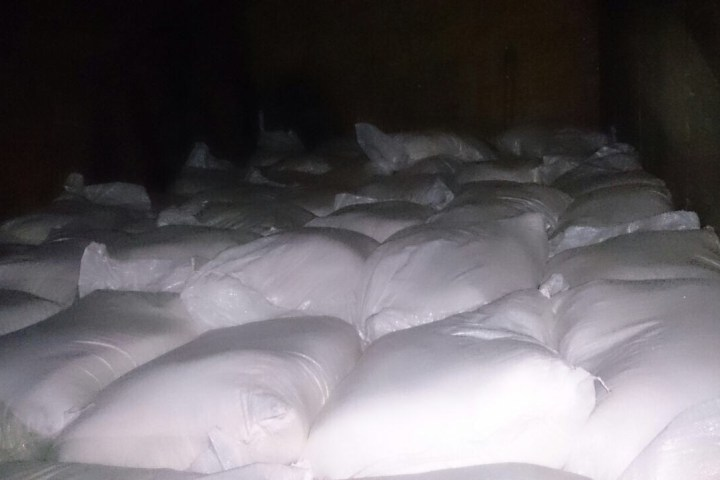 Decomisan 5 toneladas de clorato de potasio en Chiapas