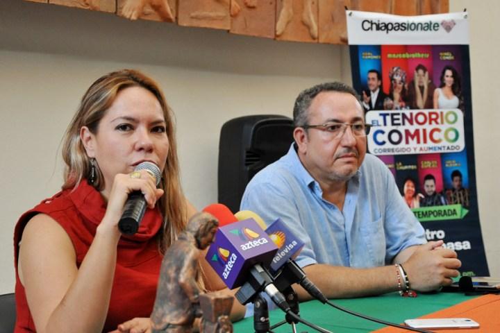 """El """"Tenorio Cómico"""" llega a Chiapas"""
