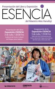 Coneculta presentará el libro y exposición de Akio Hanafugi
